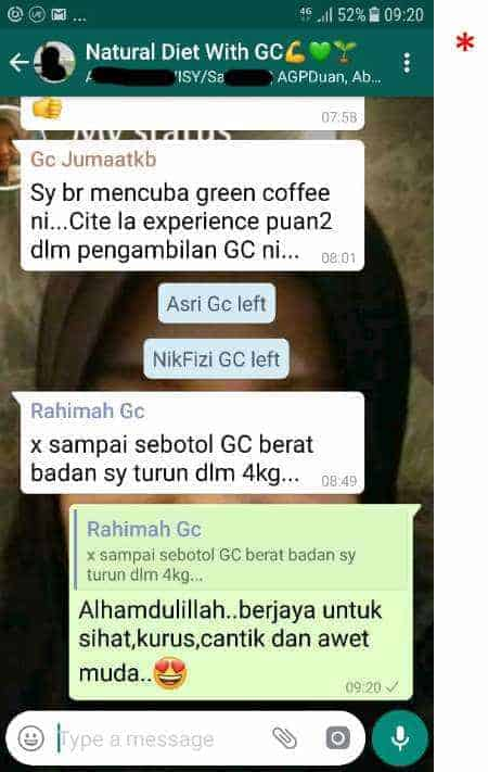 Ubat Kurus Green Coffee 9