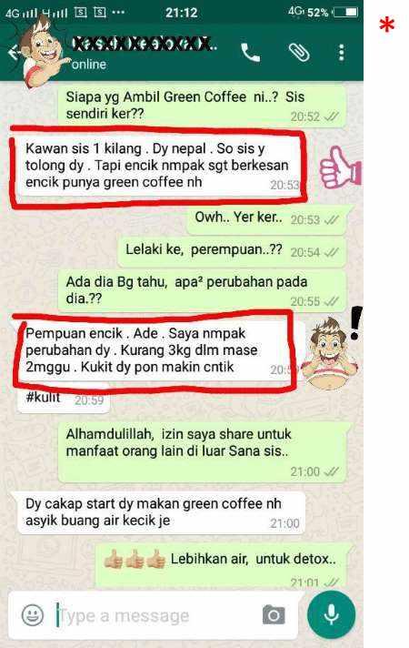 Ubat Kurus Green Coffee 11