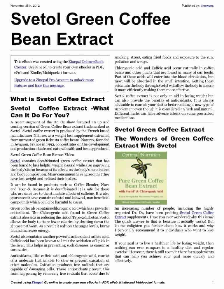 Ubat Kurus Green Coffee 7